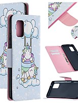 cheap -Case For Samsung Galaxy A51 5G Wallet Card Holder with Stand Full Body Cases Animal PU Leather Galaxy A71 M31S A10E A20E A20S A30 A41 A50S A70 A80 A90