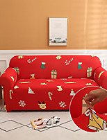 cheap -Christmas Pattern Print Sofa Cover Couch Cover Furniture Protector Soft Stretch Sofa Slipcover Spandex Jacquard Fabric Super Fit for 1~4 Cushion Couch and L Shape Sofa,Easy to Install