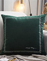 cheap -Classic Embroidery Simple Style Pillow Case Cover Home Office Fashion Pillow Case Cover Living Room Bedroom Sofa Cushion Cover