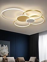 cheap -2/4 Heads LED Ceiling Light Circle Shape Nordic Modern Simple Living Room Lamp Atmosphere Home Luxury Bedroom Office Restaurant