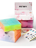 cheap -Speed Cube Set 1 pcs Magic Cube IQ Cube QIYI 3*3*3 Speedcubing Bundle Stress Reliever Puzzle Cube Smooth Office Desk Toys Brain Teaser Jelly Kid's Adults Toy Gift