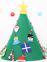 cheap -Christmas Decorations Children's Handmade Puzzle Diy Three-dimensional Tree Large Christmas Tree Ornaments