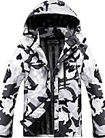 cheap -men's lightweight windbreaker winter rain jacket waterproof breathable coat camo