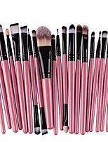cheap -makeup brush set,  20 pieces makeup brushes kit foundation powder cosmetics liquid eyeshadow eyeliner eyebrow toiletry make up brush professional set beauty makeup brushes tools (black)