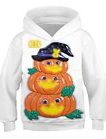 cheap -Kids Toddler Boys' Active Streetwear Graphic Animal Print Long Sleeve Hoodie & Sweatshirt White