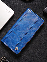 cheap -Case For Samsung Galaxy Note 20 Card Holder Flip Magnetic Full Body Cases Solid Colored PU Leather TPU Case For Samsung Galaxy Note 10 M31S M31 M30S M30 M21 M20