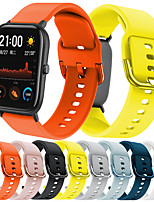 cheap -Watch Band for Amazfit GTS Amazfit Sport Band Silicone Wrist Strap