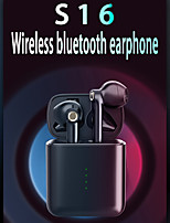 cheap -S16 Wireless Earbuds TWS Headphones Bluetooth5.0 Stereo with Microphone with Volume Control with Charging Box Smart Touch Control for Mobile Phone