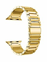 cheap -compatible for apple watch band 40mm 38mm, solid stainless steel metal link bracelet bands replacement for iwatch strap compatible for apple watch se series 6/5/4/3/2/1, gold