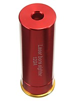 cheap -12 GAUGE 12 GA  Laser Bore Sighter Boresighter Red Sighting Sight Boresight Red Copper 12GA