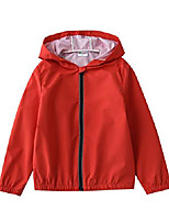 cheap -Hiking Jacket Outdoor Thermal Warm Windproof Breathable Camping / Hiking Hunting Fishing Red Dark Blue