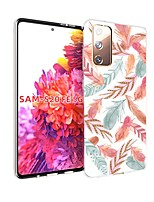 cheap -Case For Samsung Galaxy S20 FE Ultra-thin Pattern Back Cover Feathers TPU Soft Galaxy S20 Plus Note 20 Ultra Note 10 Plus A11 A21S A31 A41 A51 A71 A81 A91