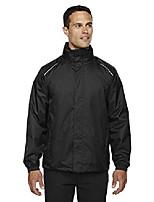 cheap -core 365 climate men's lightweight variegated ripstop jacket, black, xxxxx-large