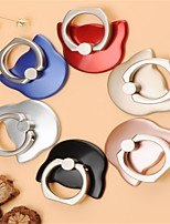 cheap -Universal Cartoon 360 Degree Finger Ring Mobile Phone Stand Holder Cat Head Ring Hook Bracket Mixed colors 10pcs