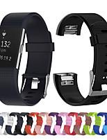 Недорогие -Мягкий силиконовый цветной браслет для смарт-часов для fitbit charge 2, сменный ремешок для часов для fitbit charge2