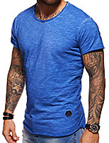 cheap -men's basic crewneck casual fashion hipster t-shirt muscle longline tee casual premium top d-1703 (s,white)