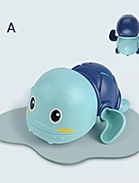 cheap -baby bath toy cute cartoon floating swimming turtles water toy for kids boys girls
