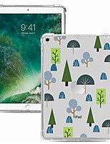 cheap -Case For Apple iPad Pro 11 2020 Shockproof Transparent Pattern Back Cover Geometric Pattern TPU iPad 10.2 Pro 10.5 2019 Air 9.7 ipad 234 mini 12345 7.9