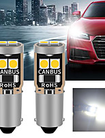 cheap -10PCS Car LED BA9S LED Canbus car interior light  6 SMD 3030 LED Instrument Lights bulb Wedge light no error 12V
