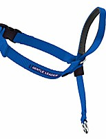 cheap -gentle leader head collar with training dvd, petite under 5 lbs., royal blue