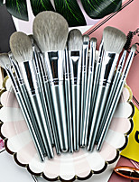 cheap -14 Pcs Makeup Brush Set Beginner Eyeshadow Brush Loose Powder Blush Nose Shadow Brush Flame Brush Eye Shadow Brush Makeup Tools Pack