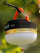 cheap -1748 Camping Lanterns & Tent Lights USB LED Light 300 lm LED 9 Emitters 4 Mode Portable LED Easy Carrying Durable Camping / Hiking / Caving Everyday Use Fishing Yellow