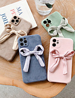 cheap -Case For iPhone 11 Shockproof Back Cover Solid Colored /  TPU For Case 7/8/7P/8P/X/XS/XS MAX/SE 2020/11 PRO/11PRO MAX