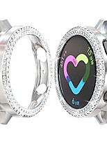 cheap -samsung galaxy watch active 2 44mm pc diamond case,bling crystal shiny rhinestone plated protective bumper shell pc protective cover for samsung galaxy watch active 2 44mm accessories