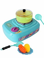 cheap -electric gas stove with lights ringing foggy simulation kitchen toy