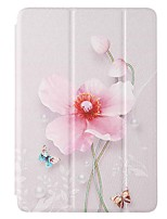 cheap -Case For Amazon HD8(2020) Amazon HD8(2017) Amazon Fire7(2017) with Stand Flip Pattern Full Body Cases Pearl Flower PU Leather TPU for Amazon HD8(2016) Amazon Fire7(2015)