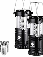 cheap -lantern led camping lanterns, battery powered camping lights, outdoor flashlight, suitable for camping, hiking, survival kits for emergency, power failure, hurricane (batteries included)
