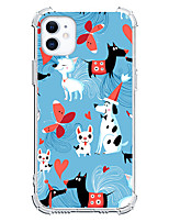cheap -Dog Case For Apple iPhone 12 iPhone 11 iPhone 12 Pro Max Unique Design Protective Case Shockproof Back Cover TPU