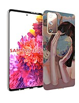 cheap -Case For Samsung Galaxy S20 FE Ultra-thin Pattern Back Cover Sexy Lady TPU Soft Galaxy S20 Plus Note 20 Ultra Note 10 Plus A11 A21S A31 A41 A51 A71 A81 A91