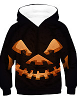 cheap -Kids Boys' Active Basic 3D Drawstring Long Sleeve Hoodie & Sweatshirt Black