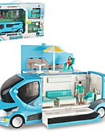 cheap -Alloy Motorhome Toy Truck Construction Vehicle Pull Back Vehicle Simulation Music & Light All Adults Kids Car Toys