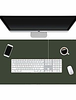 cheap -pad for desk, 31.5x15.74 inches, pu leather material desk pad on top of desk,waterproof desk writing pad for office and home, dual-sided & #40;green/gray& #41;