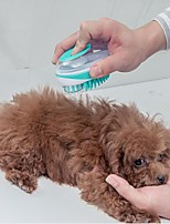 cheap -Dog Cat Cleaning ABS+PC Brush Dog Clean Supply Massage Durable Easy to Install Pet Grooming Supplies Blue Green 1