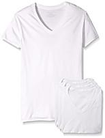 cheap -fruit of the loom men's premium v-neck tee (pack of 4) (white, xxxx-large)
