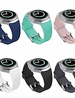 cheap -bands compatible samsung gear s2 watch, nahai soft silicone replacement sport strap wristbands samsung gear s2 smart watch, sm-r720/sm-r730 (y-6 pack)