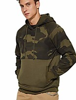 cheap -lbl men& #39;s camouflage pullover hoodies camo hooded sweatshirts army green l 42