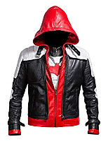 cheap -replica style red hood men vest and jacket 2 in 1 - extra small