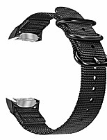cheap -band compatible with gear s2, soft woven nylon adjustable replacement sport strap with adapters compatible with samsung gear s2 sm-r720 sm-r730 smart watch, black