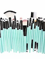 cheap -2020 newest discount 25pcs cosmetic makeup brush blusher eye shadow brushes set kit 2pcs pink lash shampoo clear plastic handle (gold yellow brush) winged flat gel pencil