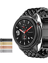 cheap -Watch Band for Huami Amazfit Pace Watch / Huami Amazfit Stratos Smart Watch 2/2S / Amazfit Stratos 3 Amazfit Business Band Stainless Steel Wrist Strap