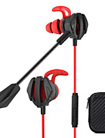 cheap -Dynamic In-Ear Wired Earphones Gaming Headsets with Dual Micwith Portable Earphone Bags