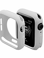 cheap -ultra thin soft tpu shockproof built in bumper protector for iwatch case 38mm 40mm 42mm 44mm series 6/5/4 antique white 40mm