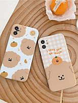 cheap -Case For iPhone 11 IMD Pattern Back Cover Animal Cartoon TPU Case For iPhone 11 Pro Max / SE2020 / XS Max / XR XS 7 / 8 7 / 8 plus