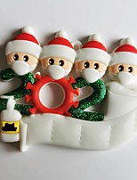 cheap -Santa Christmas Hooks Easy to Use Modern Contemporary Bathroom Decoration