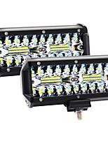 cheap -2Pcs 7Inch LED Light Bar 120W 12000LM Offroad Fog Light Driving Lights LED Pods with Spot Flood Combo Beam Waterproof Led Work Lights for UTV ATV Jeep Truck Boat 2 Pack