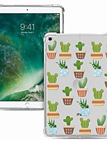cheap -Case For Apple iPad Pro 11 2020 Shockproof Transparent Pattern Back Cover Flower TPU iPad 10.2 Pro 10.5 2019 Air 9.7 ipad 234 mini 12345 7.9